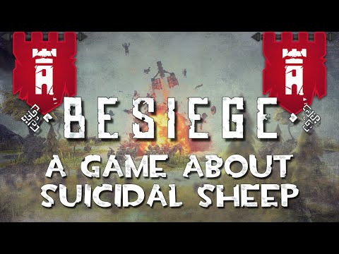 FIERY DEATH AND EXPLOSIONS | Besiege: A Game About Suicidal Sheep