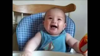 Дети Смешно Смеются: Смешной смех детей. Сhildren Laugh - Very Funny