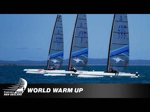 WARMING UP FOR THE A-CAT WORLDS
