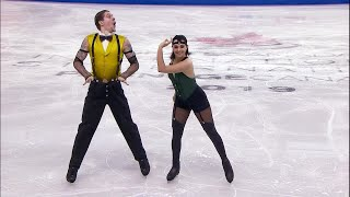 Бетина Попова - Сергей Мозгов. Ритм-танец. Танцы. Skate Canada. Гран-при по фигурному катанию