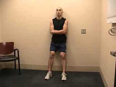Wall Slide Exercise