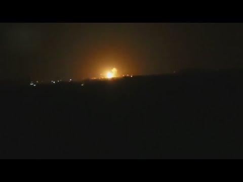 Syrien: Schwere Explosionen am Flughafen Damaskus