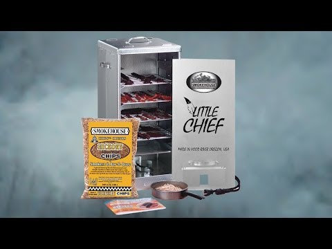 How to Operate the Little Chief Front Load Electric Smoker