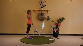 Creative Sequences for Building Lower Body Strength - Energizing Chair Yoga