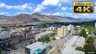 4K Downtown Kamloops  British Columbia Canada