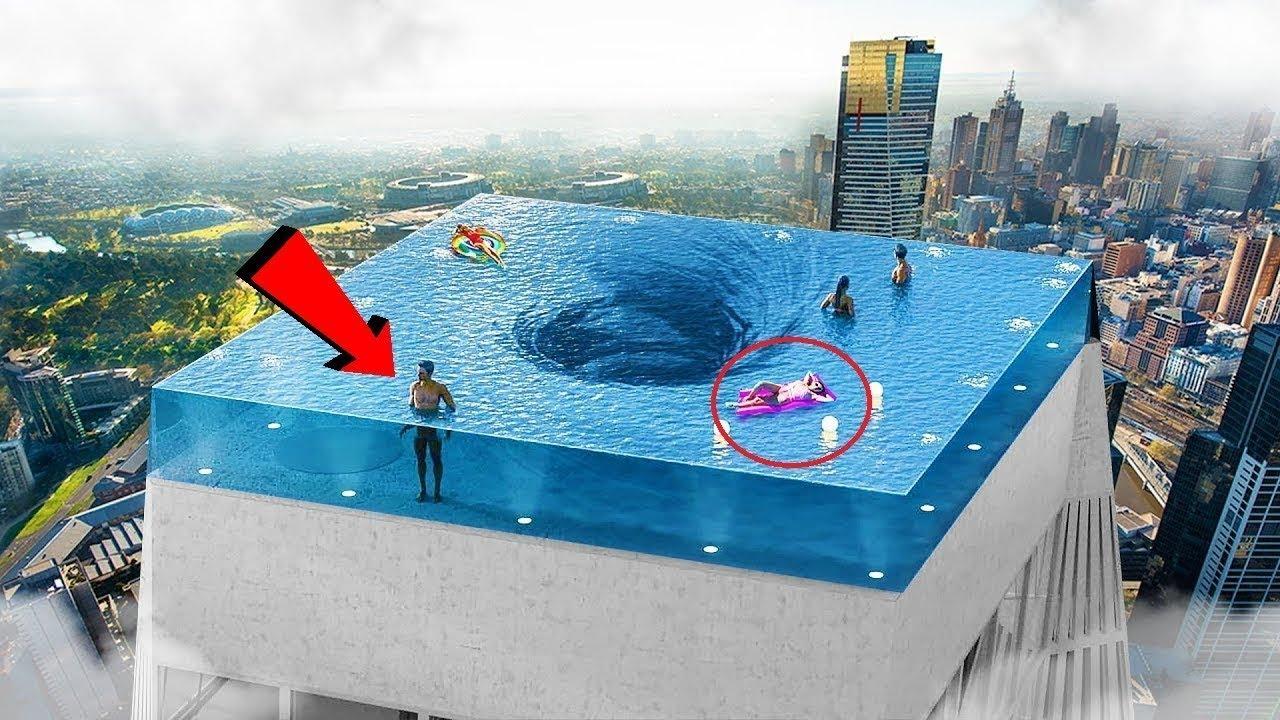 পৃথিবীর সবথেকে অদ্ভুত সুইমিং পুল- যা দেখলে গা সিউরে উঠবে | Most Amazing Pools In the World in Bangla