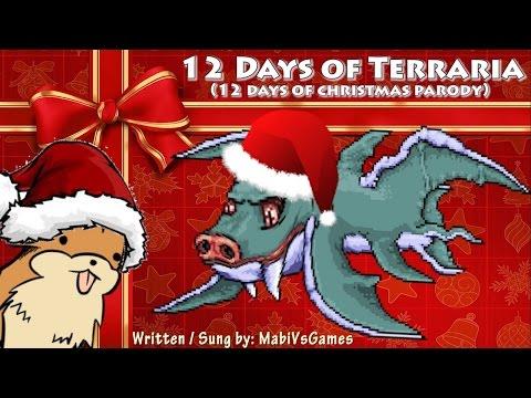 12 Days of Terraria  Terraria Song Parody 12 Days of Christmas