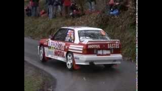 RALLYE LYON-CHARBONNIERES 2013: DANIEL ELENA BMW M3