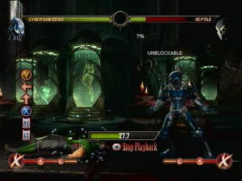 MK9: Basic Sub-Zero and Cyber Sub-Zero Combos
