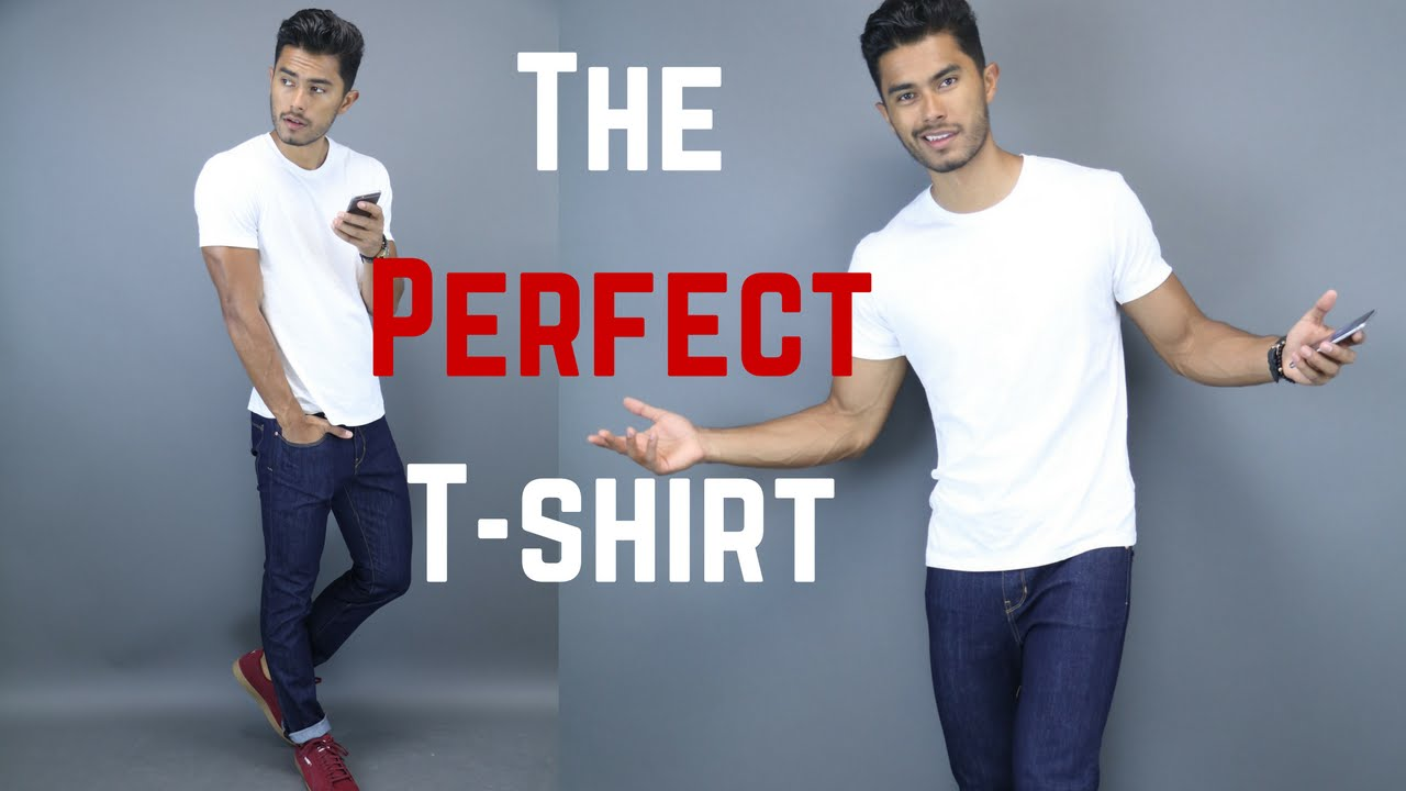 ce9e6c442 How A T-Shirt SHOULD Properly Fit - YouTube