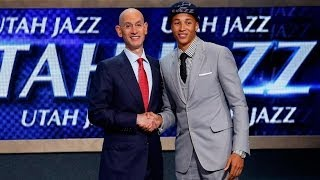Dante Exum 5th Pick 2014 NBA Draft Utah Jazz