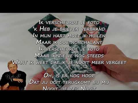 Koos Alberts - Ik Verscheurde Je Foto (Lyrics Video)