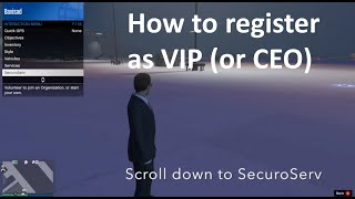 How to register as a VIP in GTA 5 Online