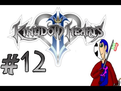 Let's Play Kingdom Hearts 2 Part 12 - Talking Clock!