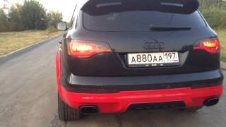 Audi Q7 4.2tdi custom exhaust
