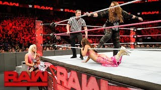 Mickie James vs. Nia Jax: Raw, Oct. 2, 2017