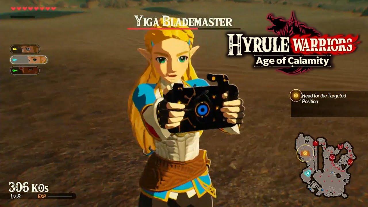 Hyrule Warriors Age Of Calamity Zelda Urbosa E Impa L Nuevo Gameplay L Lestat Gaming 29 Youtube