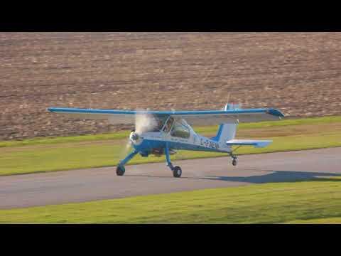[HD] PZL-104 WILGA 80 Bouncy Landing CSU3