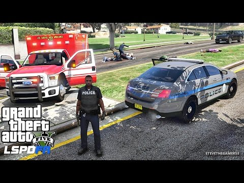 LSPDFR #436 - CITY PATROL (GTA 5 REAL LIFE POLICE MOD) BAD COP