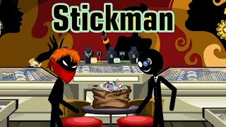Stickman mentalist. Robbery of the century