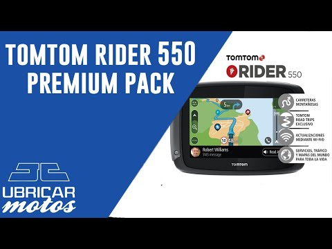 fac5800fb9346f TOMTOM RIDER 550 PREMIUM PACK - YouTube