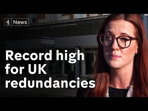UK layoffs hit record high as jobless rate rises again
