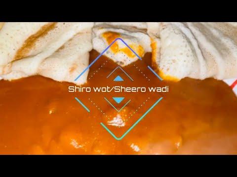 Shiro wot/Ethiopian Food