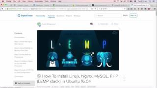 Giới thiệu LEMP và cài đặt nginx