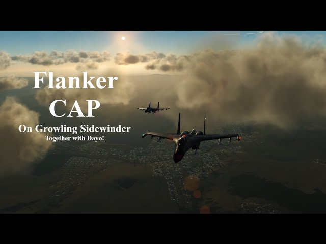 DCS: Keeping the skyes safe on Growlingsidewinder!