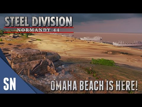 OMAHA BEACH - Steel Division: Normandy 44 - Multiplayer Gameplay