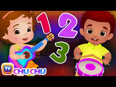 Ten Little Boys and Girls  Learning Numbers Song  ChuChu TV Number Rhymes & Songs for Babies