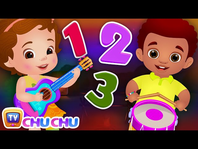 Ten Little Boys and Girls - Learning Numbers Song - ChuChu TV Number Rhymes & Songs for Babies