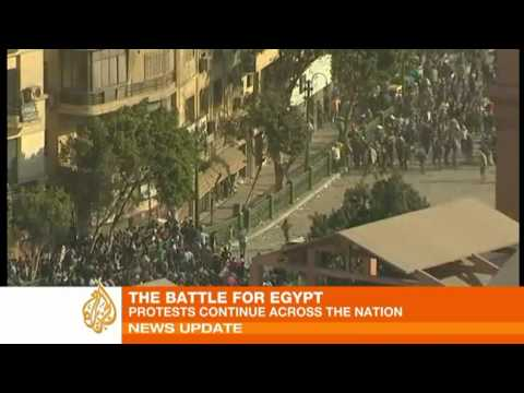 Chaos erupts in Cairo