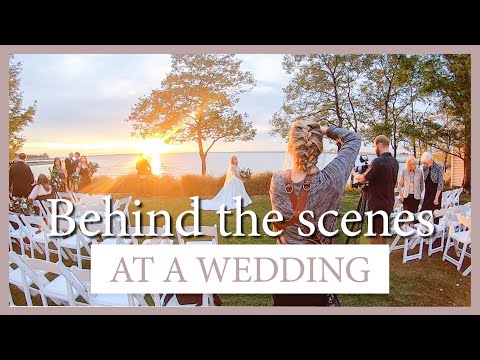 Watch Me Shoot A Wedding!