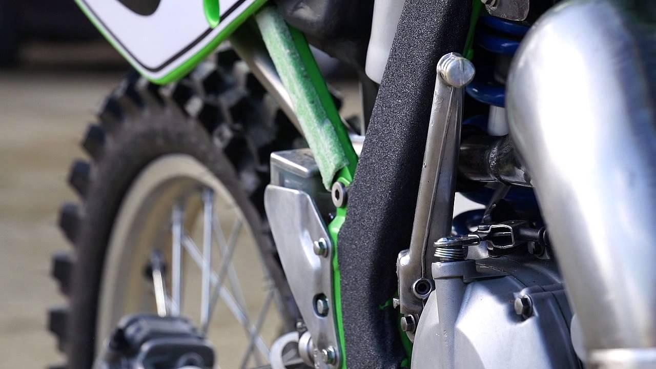 Spycam New 2018 Kawasaki Kx 125 2 Stroke Youtube