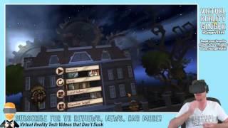 #GingerVsRift Hour 13/30 - Rooms & Nighttime Terror Streaming - VRG
