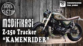 modifikasi Z-250 tracker - the kamenrider - english subtitle