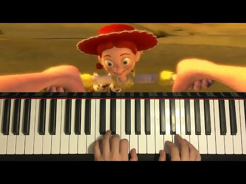 Toy Story 2 - When She Loved Me (Piano Tutorial Lesson)