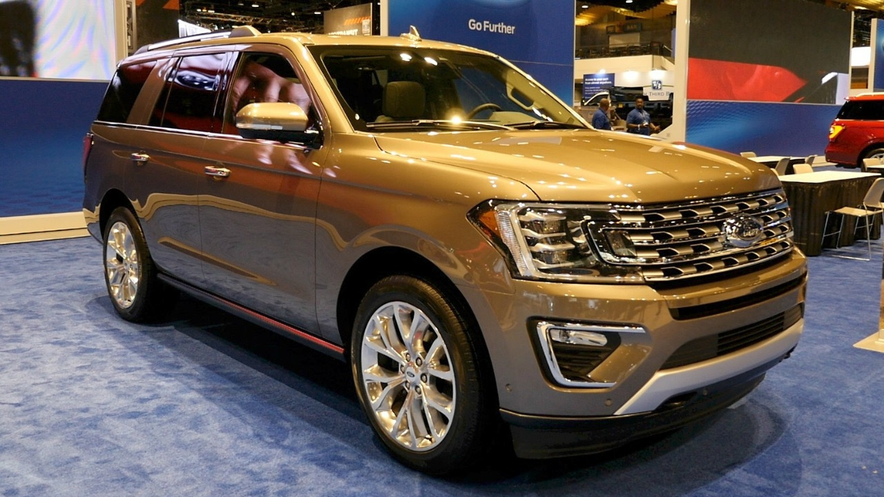 2018 Ford Expedition - 2017 Chicago Auto Show - YouTube