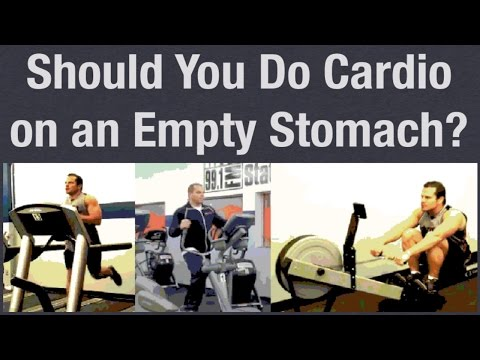 Cardio on an Empty Stomach (good or bad)