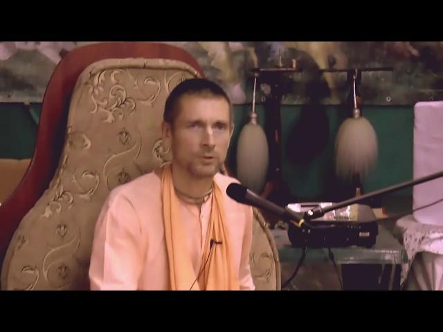 Е. С. Ананда Вардхана Свами махарадж представляет мужской Монастырь Святого Имени