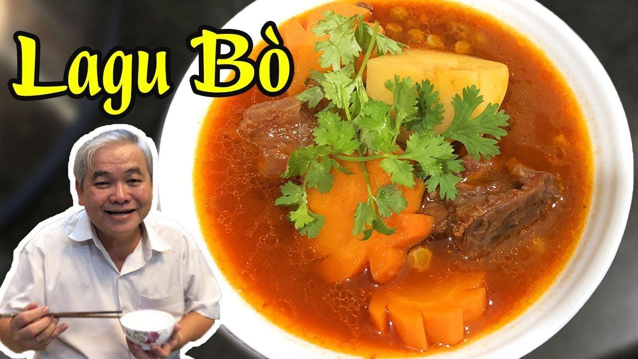 🔥 Cách Nấu LAGU BÒ nước dừa ngon cho ngày Giỗ, Tiệc ❤️😘
