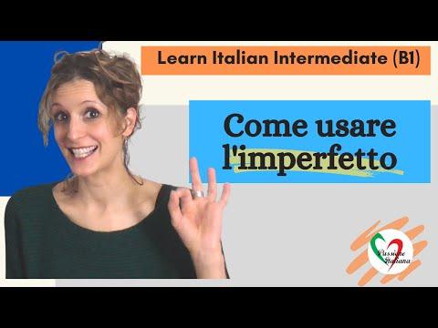 Intermediate Italian Lessons: Imperfetto