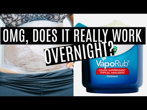 DIY BODY WRAP BEFORE & AFTER | HOW TO GET A FLAT STOMACH OVERNIGHT, DOES IT WORK? *NOT CLICKBAIT*