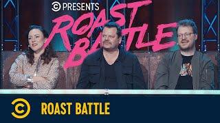 Roast Battle – Maria Clara Groppler vs. Jokah Tululu & Jonas Greiner vs. Quichotte