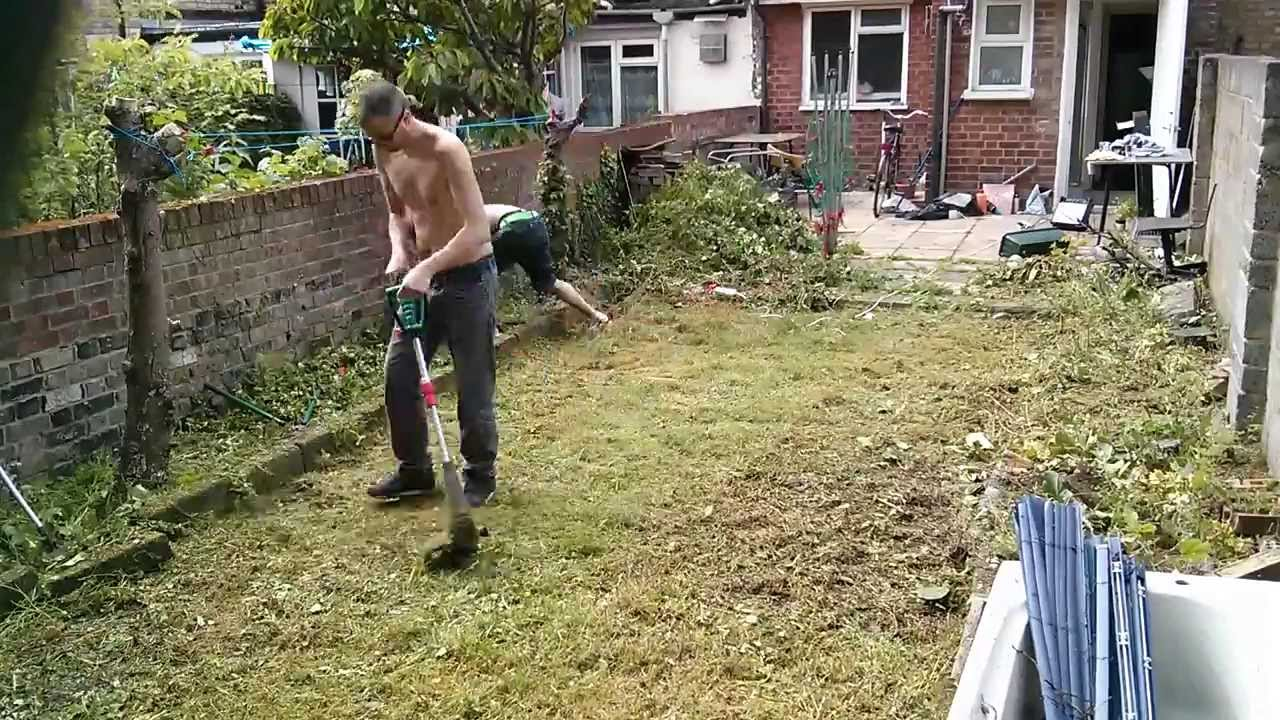 how to clean a garden in 6 minutes youtube