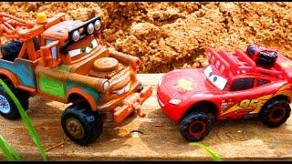 Тачки Молния Маквин и Мэтр Монстер Трак Мультик про Машинки для Детей Все серии подряд