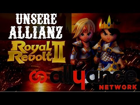 UNSERE ALLIANZ!  || ROYAL REVOLT 2 || Let's Play Royal Revolt 2 [Deutsch/German HD]
