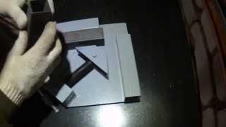 Самодельная угловая струбцина.(Homemade corner clamp.)(Угловая струбцина своими руками.Сделана в гараже .Простое в изготовлении,не требующее больших вложений..., 2014-09-24T16:01:57.000Z)