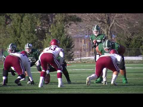 Highlights From SUNY Morrisville Football's 49-13 Victory Over St. John Fisher College